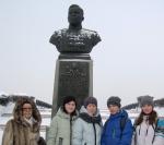 Краеведы школы № 6 - участники торжественного приёма в Заксобрании области
