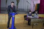 Доклад главы посёлка Ния Олега Рубцова