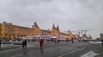 Каток и ярмарка на Красной площади