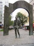 Памятник Б. Окуджаве