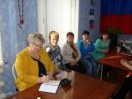 На встрече с депутатами в поселковой администрации