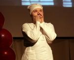Александра Герасимова (21-ГТ) исполняет своё стихотворение