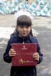маленькая устькутянка Дарина Кондратова