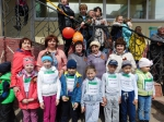 Дошкольники впервые принимают участие в эстафете