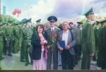 Супруги Томины на выпускном сына Дмитрия