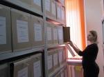 Нина Андреевна Бокан, архивариус архивного отдела