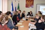 Встреча со студентами мэра УКМО Т.А. Климиной