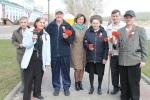 Ежегодно соцработники сопровождают пенсионеров, проживающих в стационарном отделении КСЦОН, на Парад Победы и другие городские мероприятия