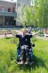 Денис Килейников - самый молодой из тех, кто проживает в стационарном отделении КСЦОН. Он увлекается фотографией и с удовольствием принимает участие в различных конкурсах