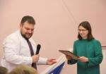 Почетной грамотой ТФОМС Иркутской области награждена специалист 1 разряда Вера Андреевна Серкина